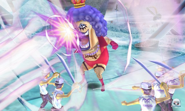 Screenshot - One Piece: Unlimited Cruise SP (3DS) 2259322