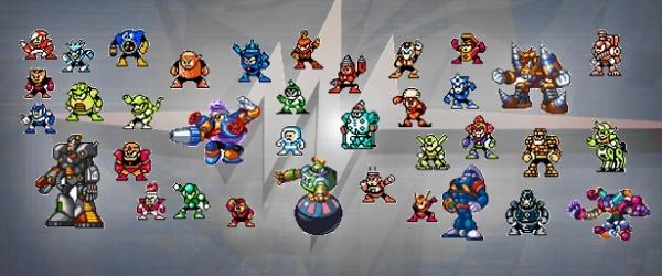 Eines der Erfolgsgeheimnisse der Mega Man-Serie ist, dass sie sich nicht auf den klassischen Blauschlumpf-Charakter beschr�nkt, sondern die �Franchise� in viele Richtungen erfolgreich weitergesponnen hat, ohne dabei die Grundpfeiler zu vergessen. Einer der wichtigsten davon war schon immer die Nutzung abgefahrener Bossgegner, die sich am besten mit der Waffe eines vorher besiegten �belwutzes erledigen lie�en. Dieser clevere Kniff verlieh den Jump-n-Runs nicht nur eine unerwartete Tiefe, sondern sorgte auch f�r rabenschwarze Augenr�nder bei den Zockern, die auf der Suche nach der optimalen Durchspiel-Reihenfolge unvermeidlich waren. Au�erdem waren die Namen der Bosse, die Capcom in fr�hen Teilen �brigens immer von Gewinnern aus Wettbewerben des japanischen Nintendo-Magazins kreieren lie�, sch�n pragmatisch, wenn auch nicht gerade irre kreativ: Ice Man, Snake Man, Elec Man, Fire Man, Cut Man, Metal Man, Wood Man, Pirate Man, Needle Man, Hard Man, Shadow Man, Magnet Man, Bright Man, Pharaoh Man, Dust Man, Ring Man, Grenade Man, Drill Man, Stone Man, Napalm Man, Gravity Man, Magic Man, Crystal Man, Knight Man, Toad Man, Wind Man, Flame Man, Dynamo Man, Blizzard Man, Top Man, Cloud Man, Junk Man... 1734148