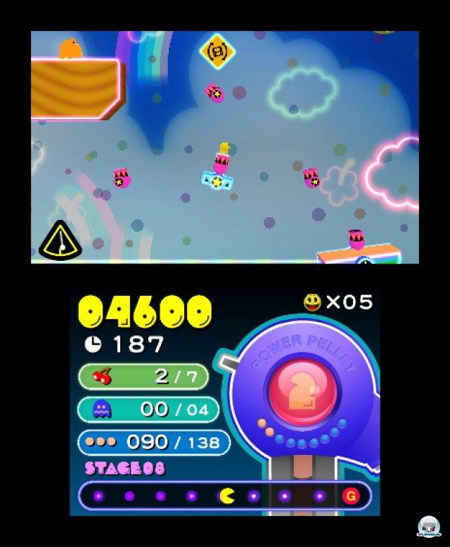 Screenshot - Pac-Man & Galaga Dimensions (3DS) 2257402