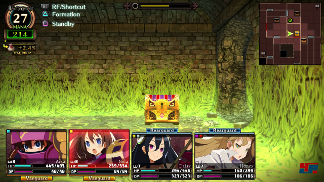 Screenshot - Labyrinth of Refrain: Coven of Dusk (PS4) 92574005