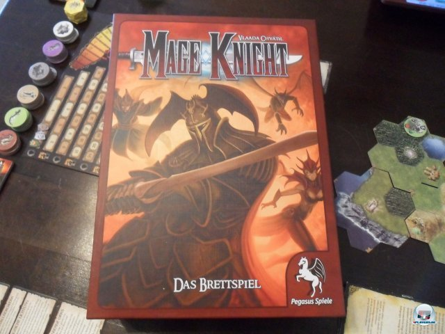Mage Knight ist f�r knapp 70 Euro bei Pegasus Spiele erschienen. Es ist f�r einen bis vier Spieler ausgelegt.
