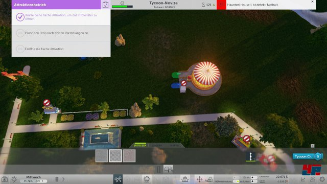 Screenshot - RollerCoaster Tycoon World (PC)