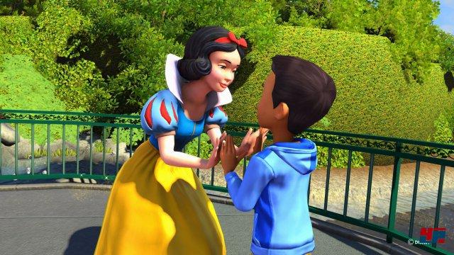 Auf One X und mit entsprechenden PCs kann man den Ausflug ins Disneyland in 4K genießen, wovon vor allem die Figuren profitieren.