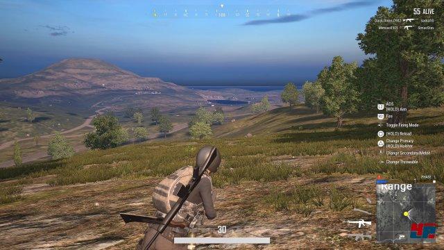 Obwohl sich viele Details erst in unmittelbarer Nähe auftun, ist auch eine PlayStation 4 Pro von 60 Bildern pro Sekunde weit entfernt.