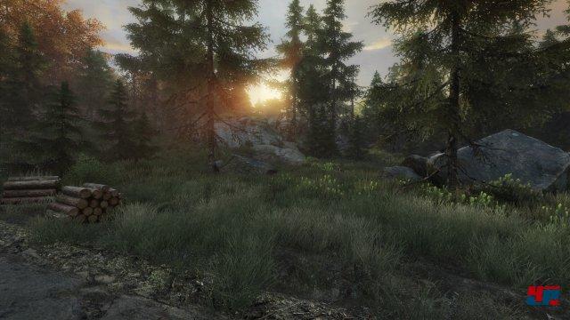 Tolles Panorama: Die Unreal Engine 3 sorgt für eine idyllische Kulisse.