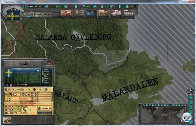 Screenshot - East vs. West: A Hearts of Iron Game  (PC)