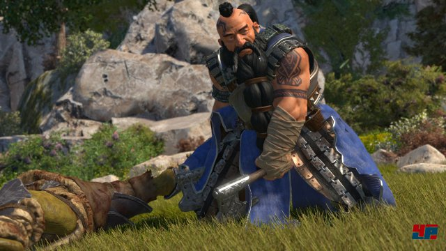 Die Story des Spiels orientiert sich am ersten Roman der Reihe und beinhaltet zudem neue Quests, Charaktere und Entscheidungsm�glichkeiten.