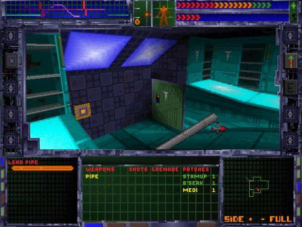 System Shock<br><br>Das 1994er Meisterwerk der Looking Glass Studios (ehemals Blue Sky Productions) war das genaue Gegenteil von Doom: Während id auf Schockmomente und geradelinige Action setzte, gewann System Shock schnell den Ruf eines Shooters mit Köpfchen - woran nicht zuletzt die cleveren RPG-Elemente sowie die Puzzles erheblichen Anteil hatten. Alleine die schon die Wahl des Schwierigkeitsgrades, die den Spieler detailliert die Anteile von Action, Story und Puzzles einstellen ließ, war einzigartig - und ist es bis heute noch. Von der klammen Atmosphäre, der brillanten Technik (Die CD-Version! Mein Gott, die CD-Version!) und der omnipräsenten Bedrohung seitens der fiesen KI Shodan gar nicht erst zu sprechen. 1718115