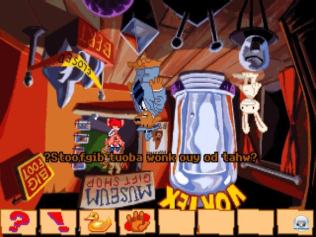 Screenshot - Sam & Max Hit the Road (PC) 92431787