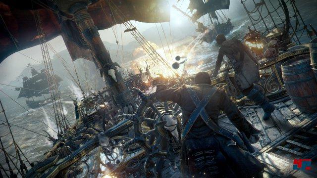 Die taktischen Seegefechte sind erweiterte Versionen ihrer Vorbilder aus Assassin