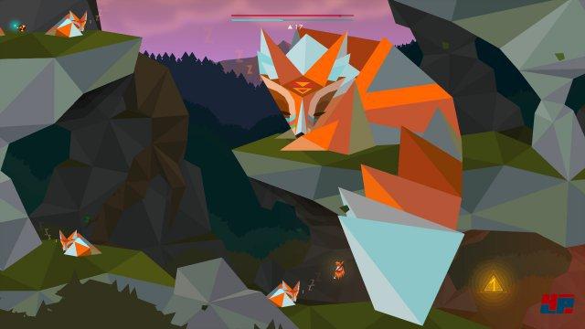 Die I-Rune befindet sich ebenfalls in der Fuchshöhle und zwar direkt hinter dem Schwanz der Riesenfüchsin. Damit diese ihren Schwanz anhebt und den Weg freigibt, muss man zuerst alle kleinen Füchse durch Berühren aufwecken.