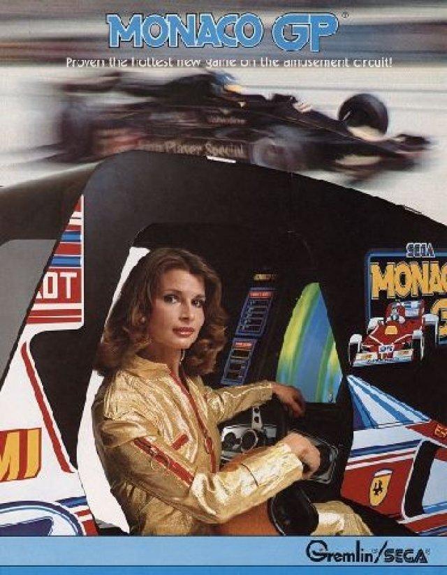 Monaco GP <br><br> Mit Monaco GP wagte 1979 auch Sega den Einstieg ins F1-Geschäft - Pro Monaco GP folgte ein Jahr später. Weitaus bekannter ist jedoch die Weiterentwicklung Super Monaco GP, das nicht nur die Spielhallen in eine Rennstrecke verwandelte, sondern mit Umsetzungen für Mega Drive, Game Gear, Amiga, C-64 sowie Atari- und Amstrad-Systeme einen größeren Bekanntheitsgrad erlangte. 2270247