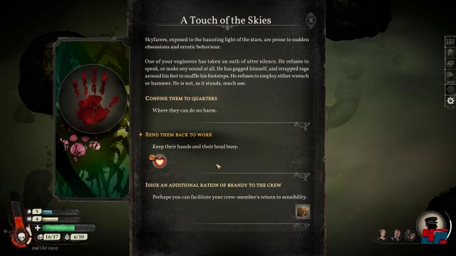 Geschichten und Entscheidungen: Sunless Skies ist eine Mischung aus Elite und Text-Adventure.