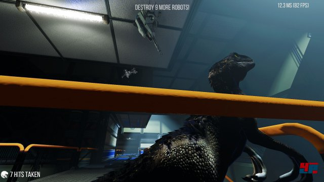 Screenshot - In Case of Emergency, Release Raptor (PC)