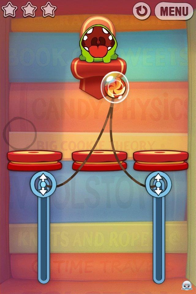 Screenshot - Cut the Rope: Experiments (iPhone) 2262042