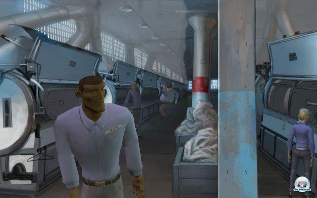 Der Spieler entscheidet, ob er Joe zum Ausbruch aus dem bekannten Hochsicherheitsgefängnis verhilft.