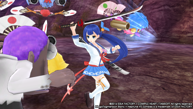 Screenshot - MegaTagmension Blanc   Neptune VS Zombies (PS_Vita) 92525117