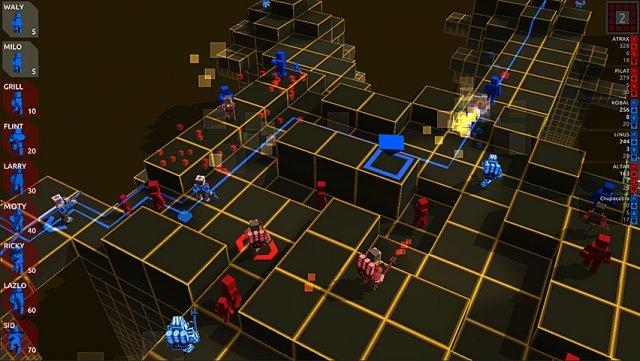 Hektik im Mehrspielermodus - 3 gegen 3 kann schnell zu unübersichtlichen Situationen führen