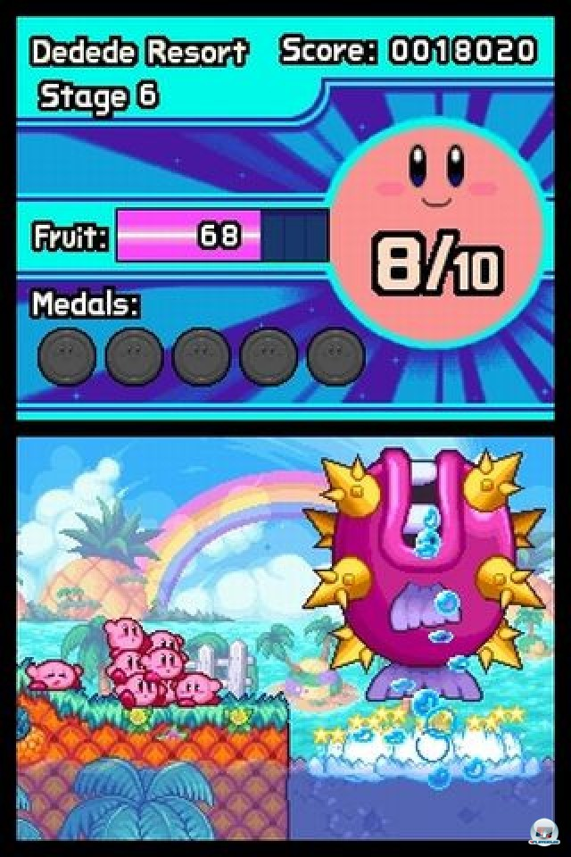 Screenshot - Kirby: Mass Attack (NDS) 2252077