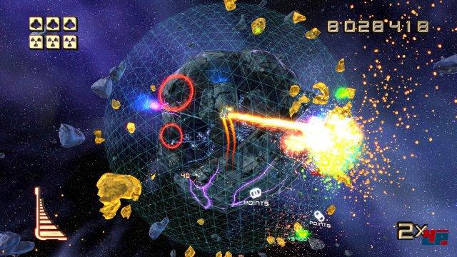 Die Planeten sind mit mehr zerklüfteten Feinheiten modelliert als auf der PS3 - trotzdem hält sich der visuelle Unterschied in Grenzen.