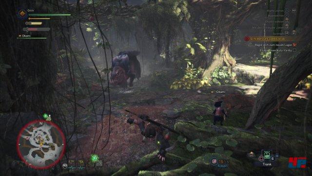 Wenn man vom Jäger zum Gejagten wird... Mit den ... ist nicht zu spaßen.