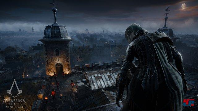 Erstmals spielen zwei Assassinen die Hauptrolle: Man kann fast jederzeit zwischen Evie...