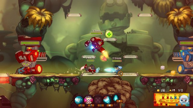 Screenshot - Awesomenauts (PC-CDROM)