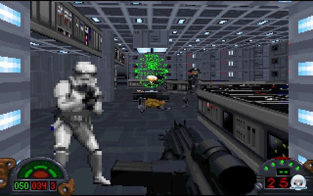 Tod dem Imperium! Lang leben die Rebellen! Mit Dark Forces wurde im Star-Wars-Universum endlich mal handfest für Ordnung gesorgt.