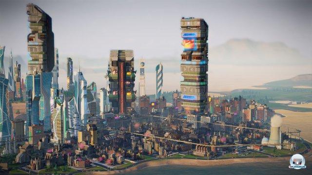 Screenshot - SimCity Städte der Zukunft (Mac)