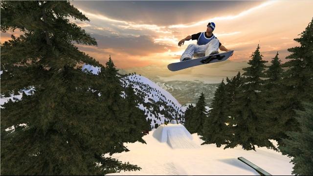 SSX/ Amped/ Shaun White & Co <br><br> Wer sich trotz (oder wegen) der Kälte eher sportlich betätigen will, sollte über einen Abstecher auf die Pisten und Pipelines der SSX-Serie nachdenken. Wer dazu noch eine völlig abgedrehte Story will, liegt mit Amped genau richtig. Und Shaun White? Da klingt der Name alleine schon schneeig, doch auch das dazugehörige Snowboard-Spiel bietet herrlichen Wintersport auf dem Brett. 2180872