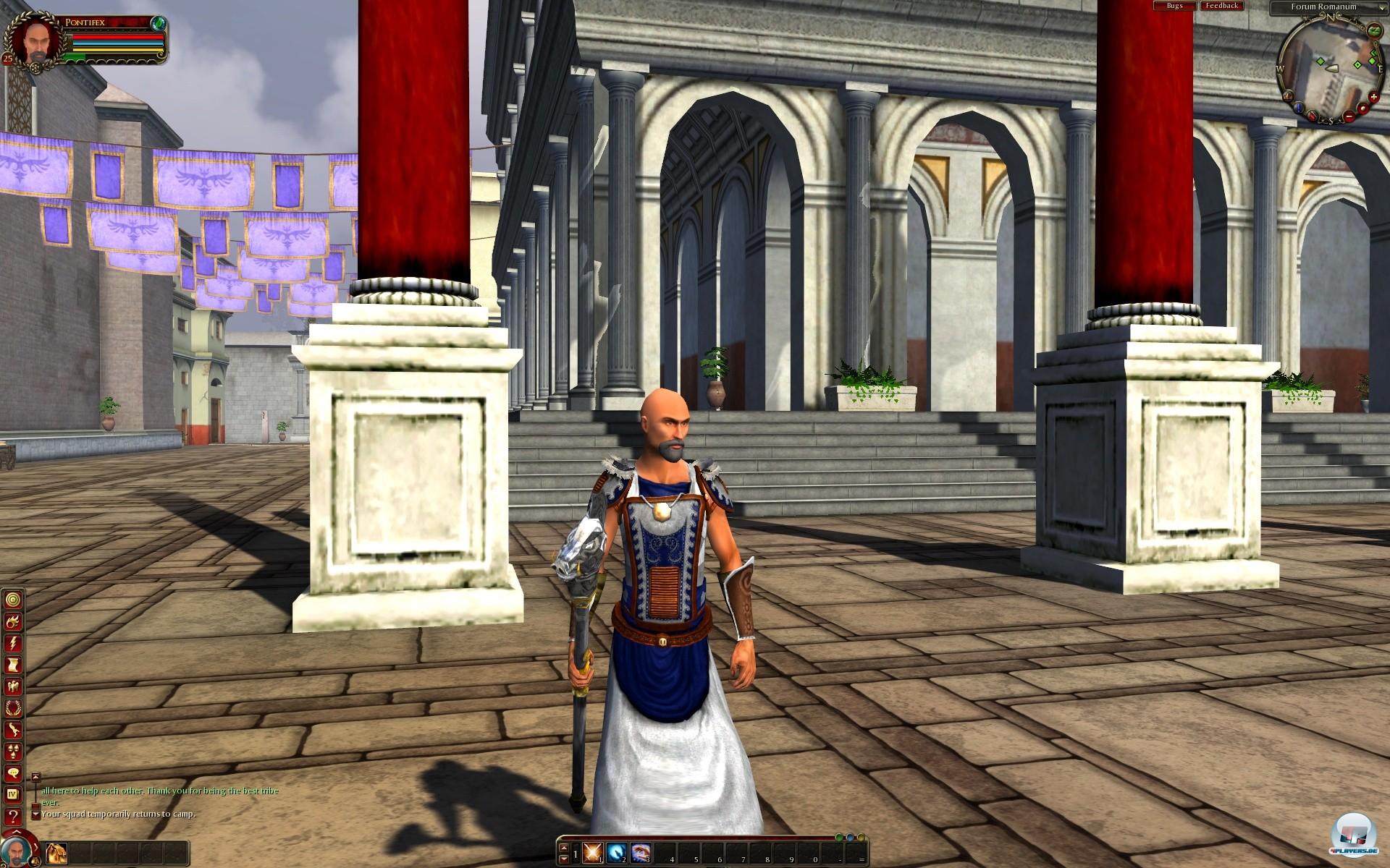 Bei den Klassen, die man durch das römische Reich begleitet, bietet Gods & Heroes keine Überraschungen...