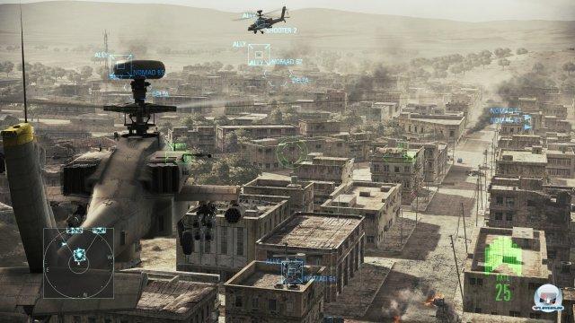 Keiner wei� so richtig, warum die Hubschrauber in der Kampagne sind, aber - da sind sie. Viel Spa� damit.