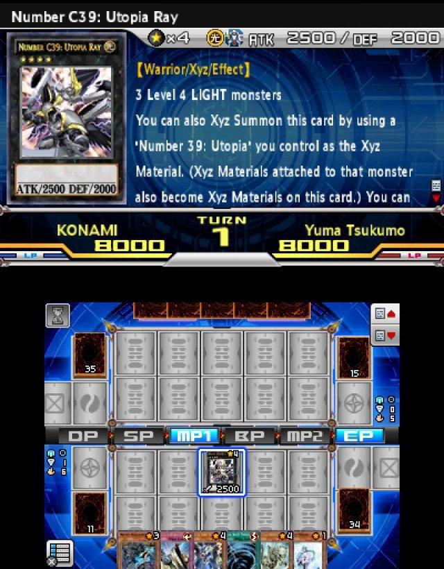 Screenshot - Yu-Gi-Oh! Zexal World Duel Carnival  (3DS)