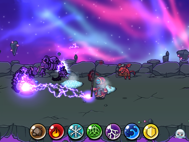 Screenshot - Magicka: Wizards of the Square Tablet (Android)