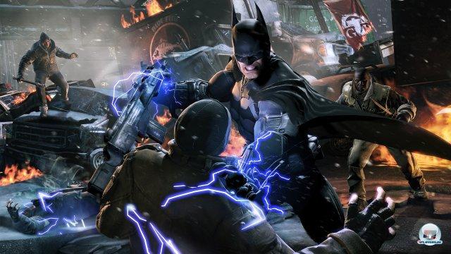 Ist Batman erst mal richtig geladen, schlägt er noch härter zu.