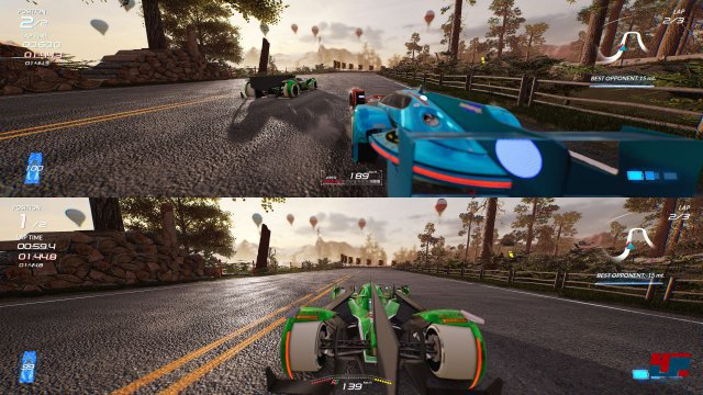 Screenshot - Xenon Racer (PC)