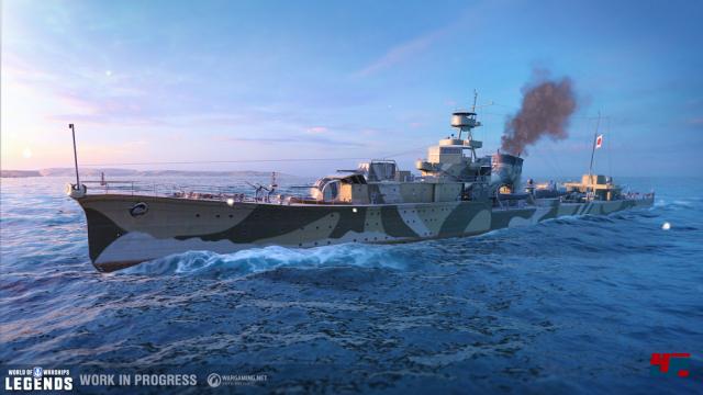 Screenshot - World of Warships (PS4) 92572421