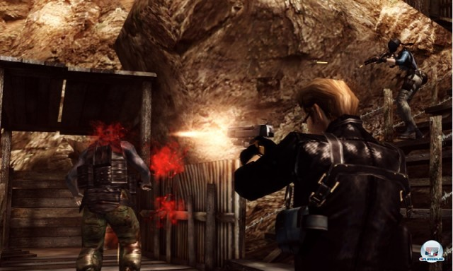 Screenshot - Resident Evil: The Mercenaries 3D (3DS) 2227483