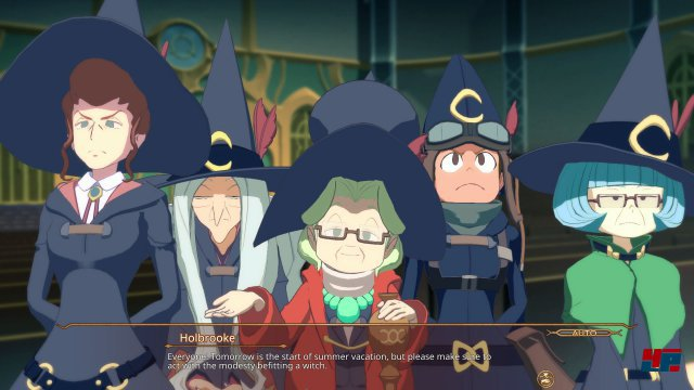 Screenshot - Little Witch Academia: Chamber of Time (PC)