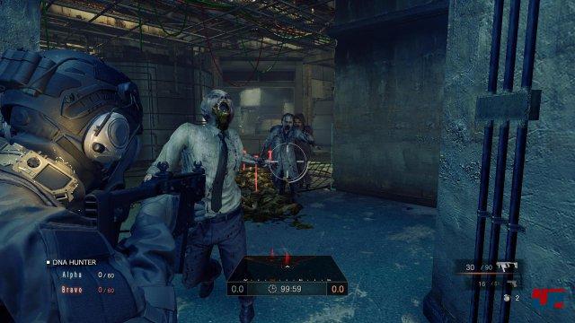 Die Zombies als dritte Fraktion sind in das Spielgeschehen eingebettet.