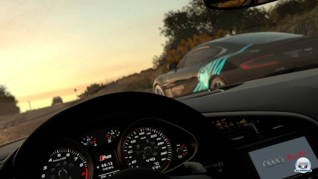 Direkte Duelle bot die E3-Demo zwar nicht, trotzdem hatten es schon die asynchronen Rennen in sich.