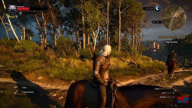 Haare auf Mensch, Pferd und Monster? Voll, bewegt und ansehnlich - auf dem PC nur noch voller, bewegter, ansehnlicher.