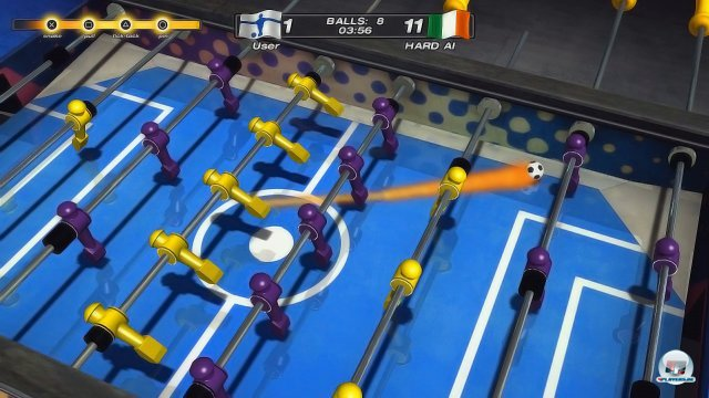 Screenshot - Foosball 2012 (PlayStation3)