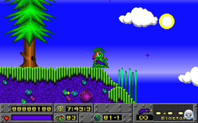 Screenshot - Jazz Jackrabbit (PC)