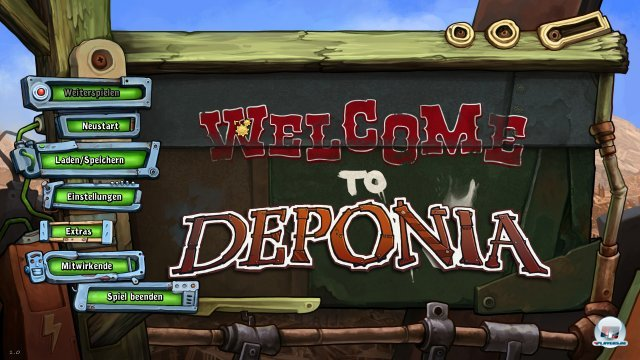 Screenshot - Deponia (PC-CDROM)