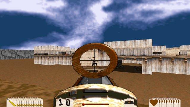 Outlaws war einer der ersten Shooter, in denen man auch ein Zielfernrohr verwenden durfte.