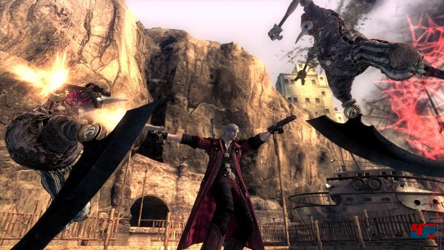 Screenshot - Devil May Cry 4 (PlayStation4)