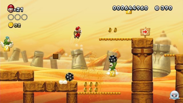 Screenshot - New Super Mario Bros. U (Wii_U) 92420507