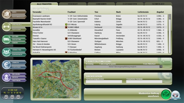 Screenshot - Der Planer 5 - Der Logistik-Manager (PC)