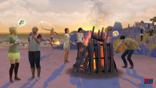 Screenshot - Die Sims 4: Zeit für Freunde (PC)